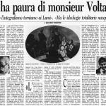 Chi ha paura di monsieur Voltaire?