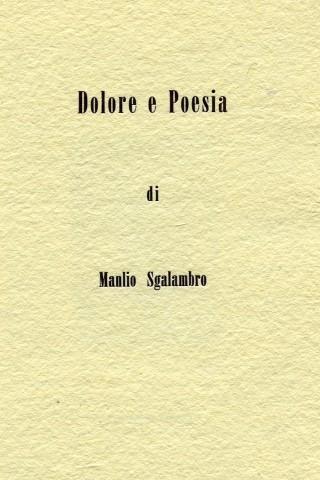 Dolore e poesia