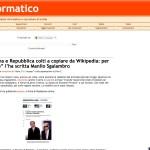 """""""Corriere"""", """"Panorama"""" e """"Repubblica"""" colti a copiare da Wikipedia: per loro, """"Fra' Martino"""" l'ha scritta Manlio Sgalambro"""