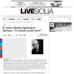 """È morto Manlio Sgalambro. Battiato: """"Un dolore molto forte"""""""