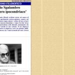 Manlio Sgalambro e il 'pensiero ipocondriaco'