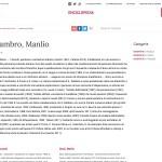 Sgalambro, Manlio