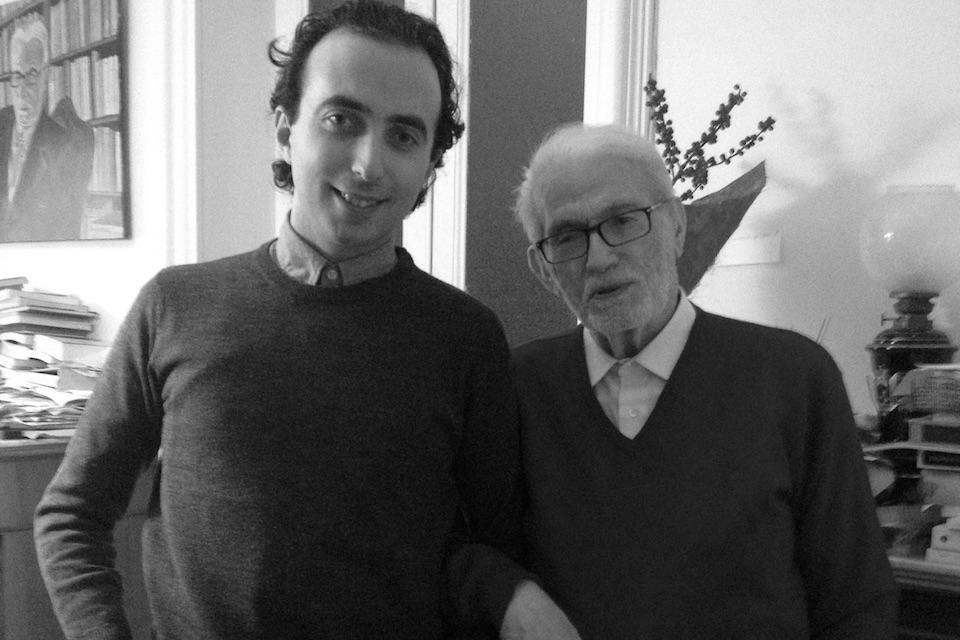 Alessio Cantarella e Manlio Sgalambro