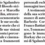 Un docu-film su Manlio Sgalambro con le testimonianze di Battiato, Ghezzi & C.